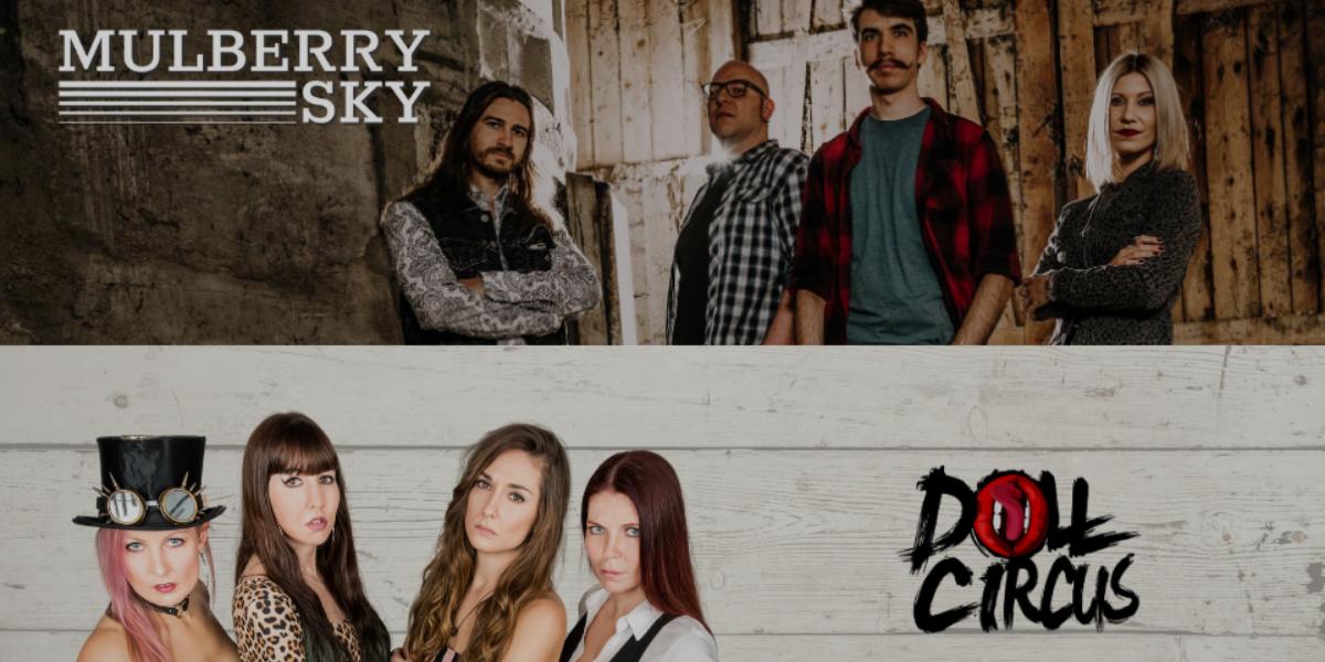 Mulberry Sky & Doll Circus – Konzert am 20.08.2020 in München